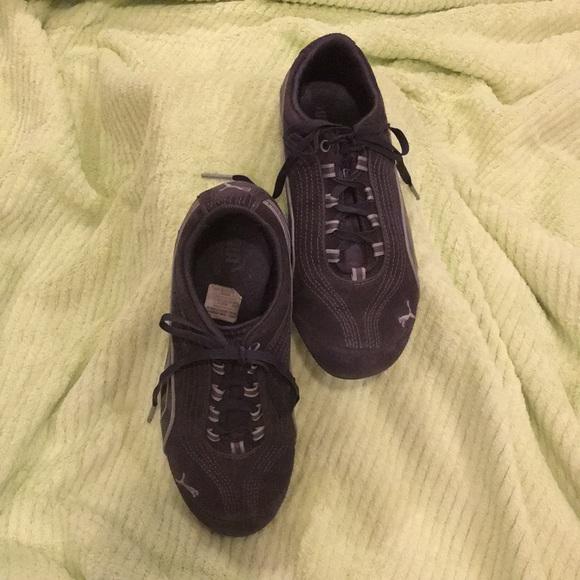 e062e818fe2 Puma Shoes | Sport Lifestyle Sneakers Charcoal Suede | Poshmark